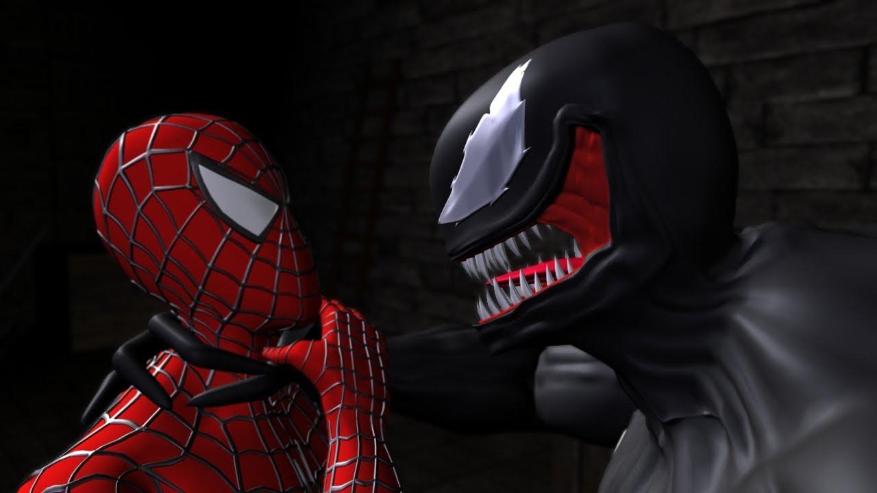 Spider-Man vs. Venom - Spider-Man Ultimate 4 - YouTube