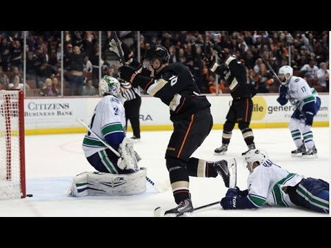 Corey Perry nets winner with one second left