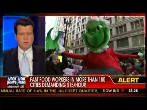 Fast-Food Workers In More Than 100 Cities Demanding $15 Hour Wages - Cavuto