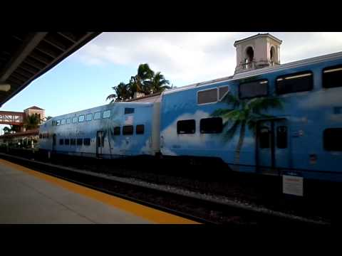 West Palm Beach Tri-Rail Station - 1/12/2014 - Part 2.