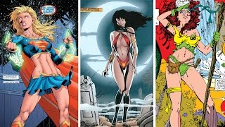 Top 10 Sexiest Female Comic Book Characters of All Time