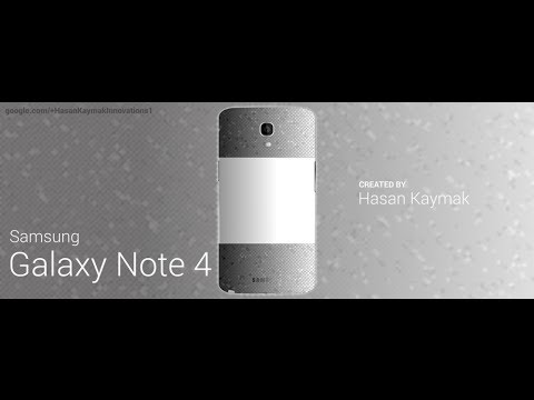SAMSUNG NOTE 4 Concept Innovation