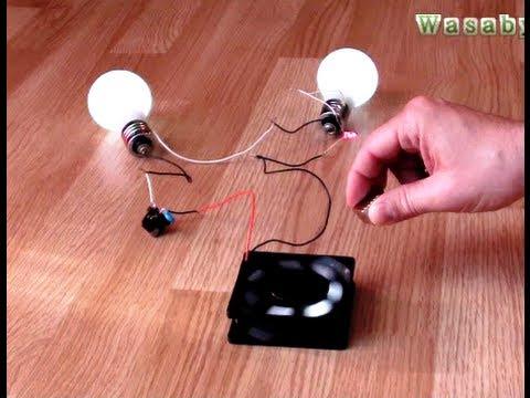 "Free Energy Magnet Motor fan as Free Energy Generator ""Free Energy ..."