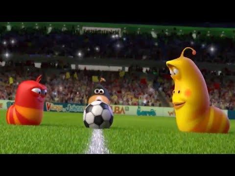 Larva -  fotbal