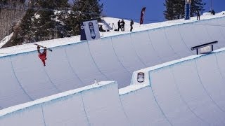[Worlds First Double Superpipe Competition] Video