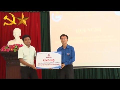 Tin Tức 24h: Tuổi trẻ Hải Phòng quyên góp ủng hộ đồng bào miền Trung