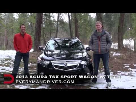 2013 Acura TSX Sport Wagon Review on Everyman Driver