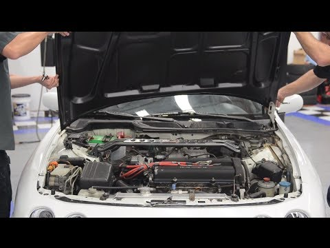 How do I install an aftermarket hood? Presented by Andy's Auto Sport