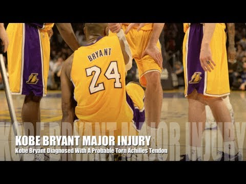 Lakers Injury: Kobe Bryant Out With Probable Torn Achilles Tendon