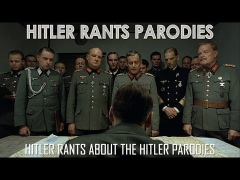 Hitler rants about the Hitler Parodies