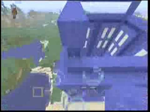 Doctor Who Minecraft Build (Time-Lapse) (Matt Smith & The T.A.R.D.I.S.)