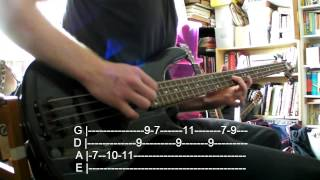Day Tripper The Beatles Bass Cover (w/Tabs)