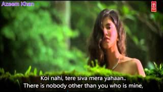 Kabhi Jo Baadal Barse Hindi English Subtitles Full Song