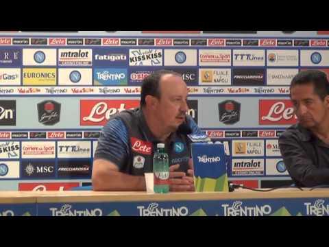 Dimaro 2014, 18/07: la prima conferenza stampa di Rafa Benitez