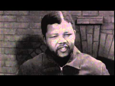 Nelson Mandela's first TV interview in 1961 by reporter Brian Widlake