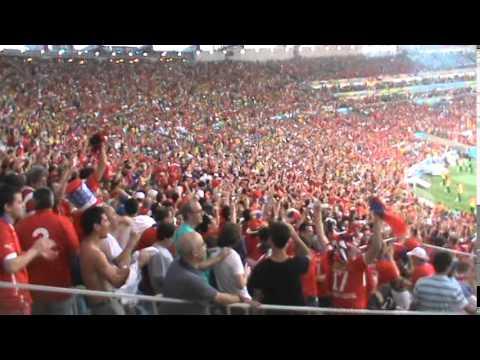 España vs Chile 0 - 2 Gol Eduardo Vargas