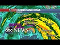 Storm conditions intensify in Naples, Florida