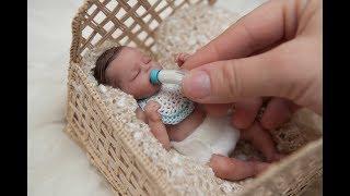 "Miniature Silicone Baby ""Tiny Timmy"""