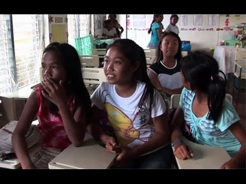 Hope and resilience for learning, amid destruction in the Philippines