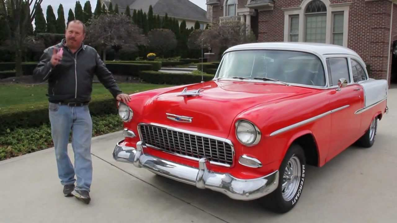 1955 chevy 210 post car classic muscle car for sale in mi vanguard motor sales youtube