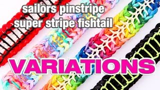 How To Make The Sailors Pinstripe Super Stripe Fishtail