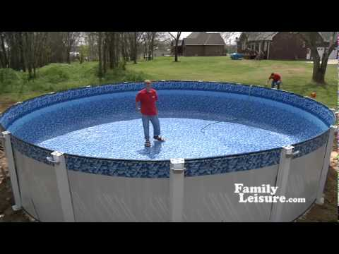 Swimming pool installation what to expect 2 of 2 youtube for Above ground pool decks indianapolis