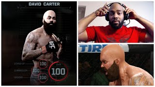 EA SPORTS UFC Career Mode FACECAM: The Supreme Being 100