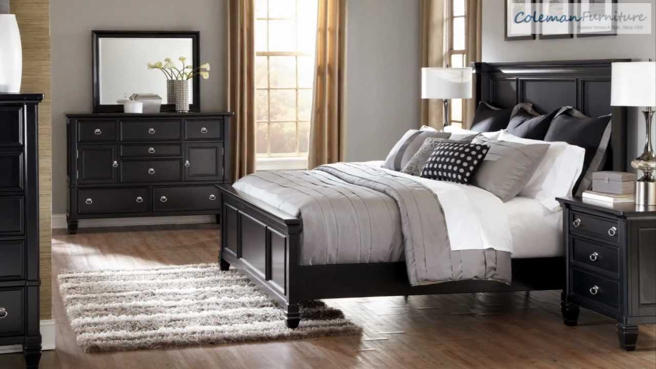 greensburg bedroom furniture from millennium by ashley youtube. Black Bedroom Furniture Sets. Home Design Ideas