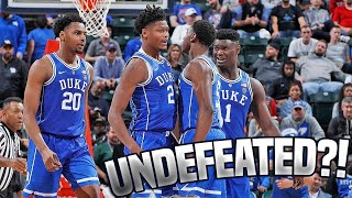 Duke Will Go Undefeated If They Play Like This | #4Duke vs #2Kentucky