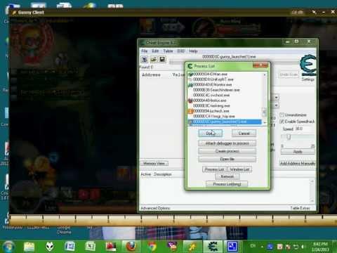 Hack speed boss rồng gunny bằng cheat !
