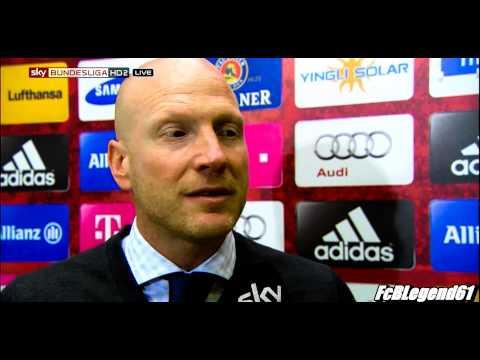 Matthias Sammer im Interview nach dem Spiel gegen Hannover 96 / 14.09.2013