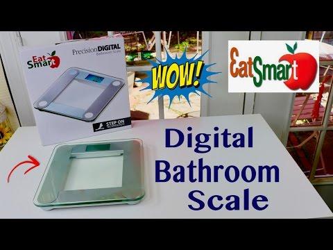 😍  EatSmart Precision Digital Bathroom Scale - Review ✅