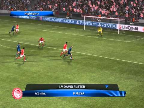 Champions League 2013/2014 - Benfica - Olympiakos : 2-4 (Highlights)