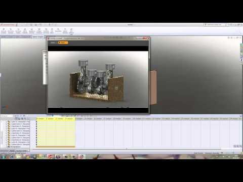 Yakın Kampüs   SolidWorks Krank Biyel Mekanizması   8   Animasyon Render