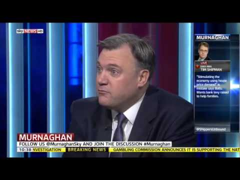 Ed Balls: 'I couldn't give a toss' - Murnaghan, Sky News