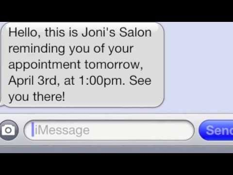 Text Messaging for Salons