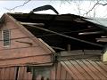 Raw: Tornado Damage West of New Orleans
