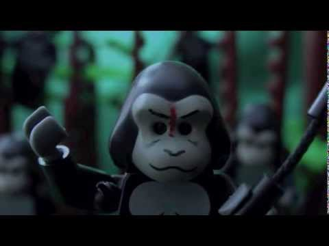 Lego Dawn of the Planet of the Apes Trailer 2014