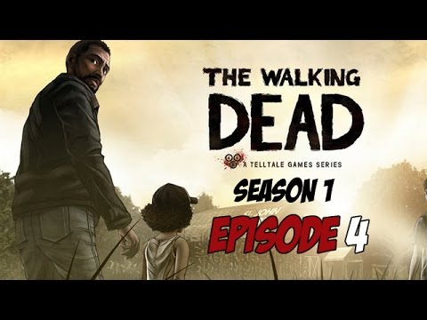 The Walking Dead - Season 1 - Episode 4 - Game Movie