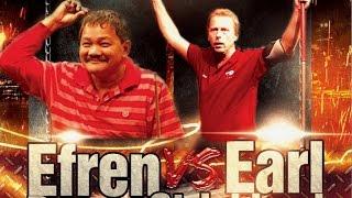 Efren Reyes VS Earl Strickland The Battle Of Legends At