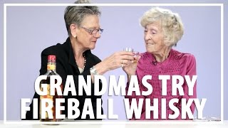 Grandmas Try Fireball Whisky For First Time
