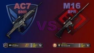 AC7 SNR и M16 - Warface / Оружие
