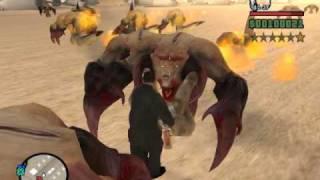 GTA San Andreas Mod Misterix Parte 3 Aliens E Lagarto