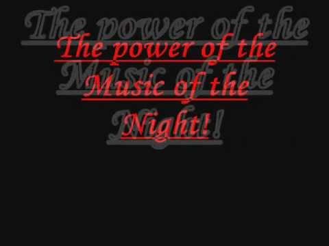 Music of the night lyrics