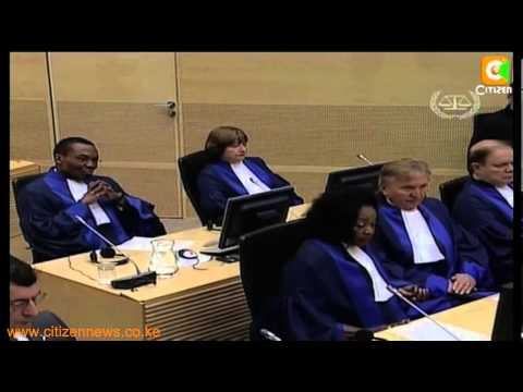 ICC Update Charges Against Kenyatta, Includes Maina Njenga