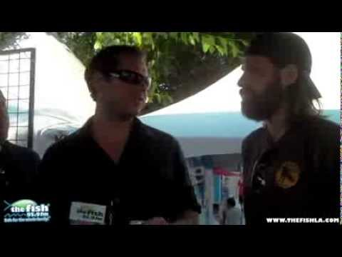 THIRD DAY interview at FISHFEST 2013