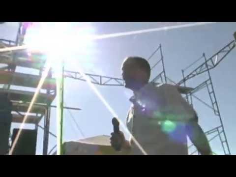 Woody Harrelson at Seattle Hempfest - No Prison For Pot