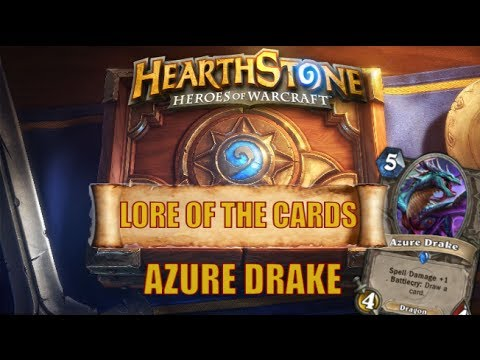 Hearthstone | Lore of the Cards | Arygos | Azure Drake