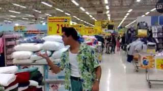 Jim Carrey Do Brasil Ace Ventura No Supermercado Em