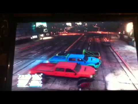 Gta v- 3 Lifted Sandking XXLs &A Turismo Glitch